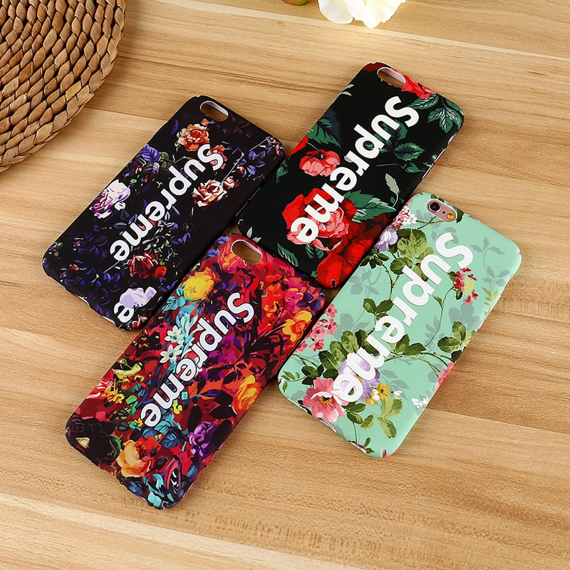 the latest 35689 eced7 Dazzling Luxury Fashion Supreme Flower Case For iPhone 6/6S Plus