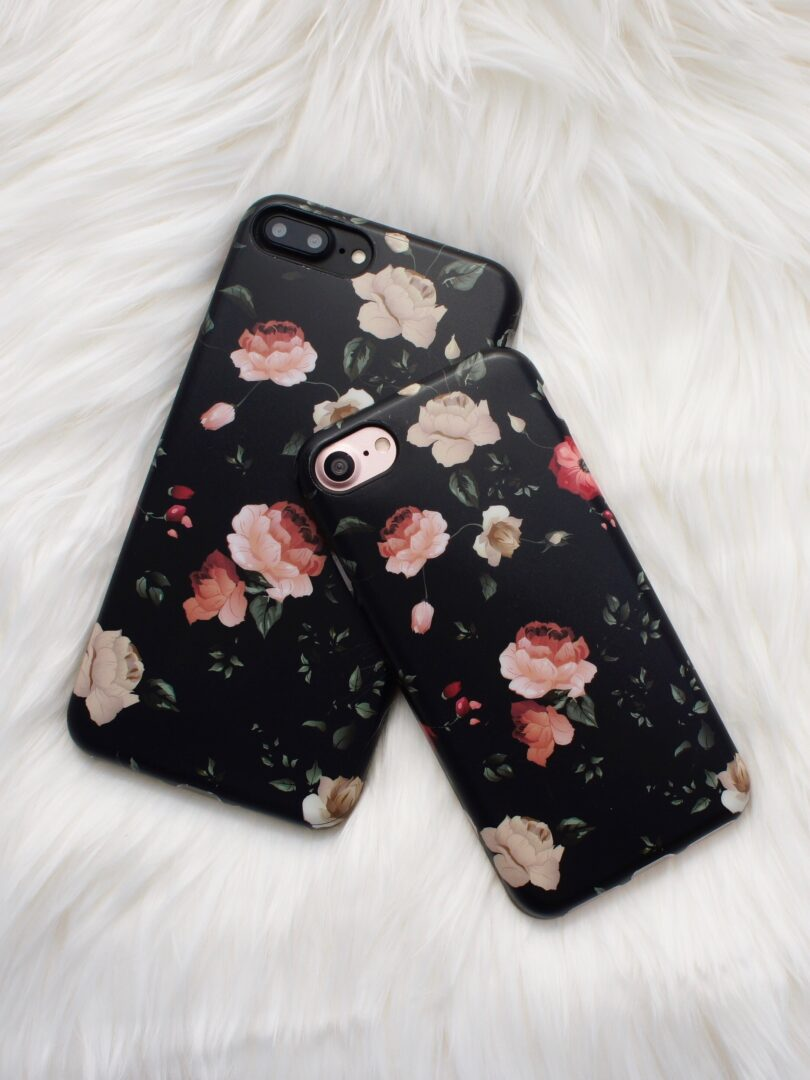 meet 3135f 04ae7 Floral Case In Dark Roses For iPhone 6/6S Plus
