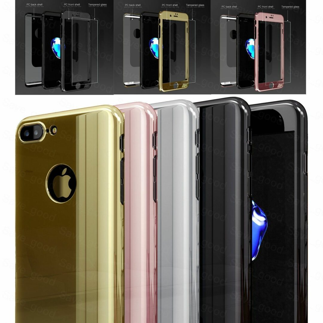 Luxury-360-Full-Body-Protective-Mirror-Case-Tempered-