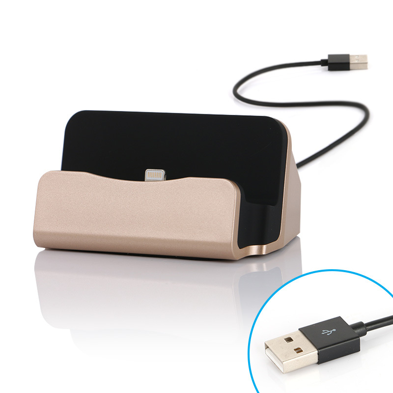 sync and charge docking station for iphone ipad mini and. Black Bedroom Furniture Sets. Home Design Ideas