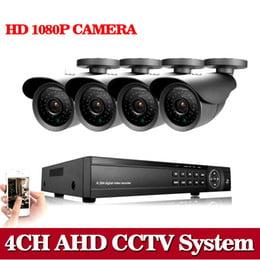 Surveillance Kit 4ch 1080p 1080n Ahd Dvr 4 X 3000tvl 1080p
