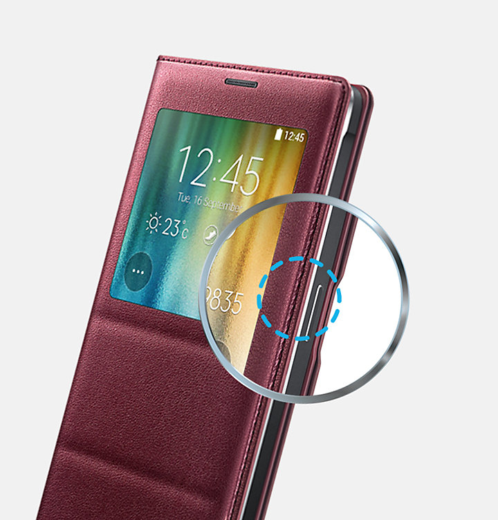 promo code f201a e736c S View Cover (Galaxy Note 4)