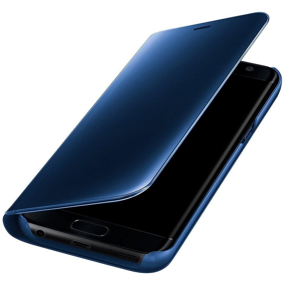 san francisco b48a8 36c77 Clear View Standing Case for Samsung Galaxy A5 2017 A520 Blue