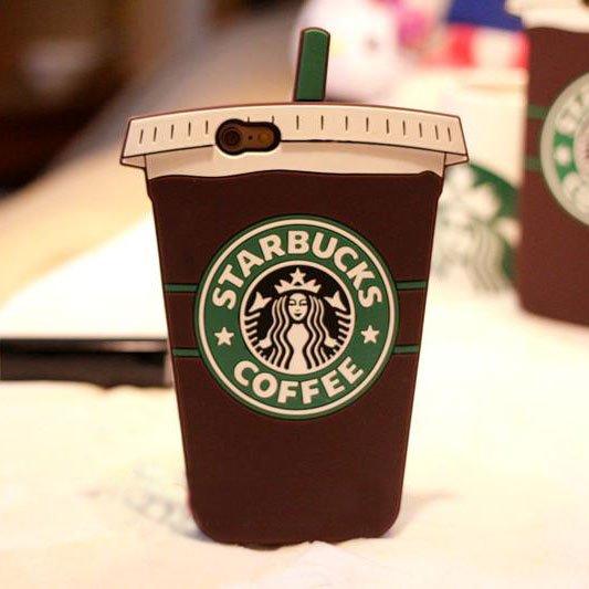 promo code cd58e 5a214 Starbucks Coffee Cup Silicone Case For iPhone 5/5S/5SE