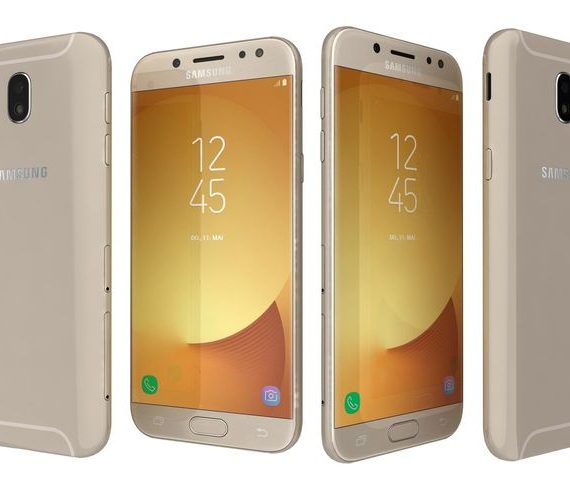 mobile phone samsung galaxy j5 2017 duos 16gb gold gadgets house. Black Bedroom Furniture Sets. Home Design Ideas