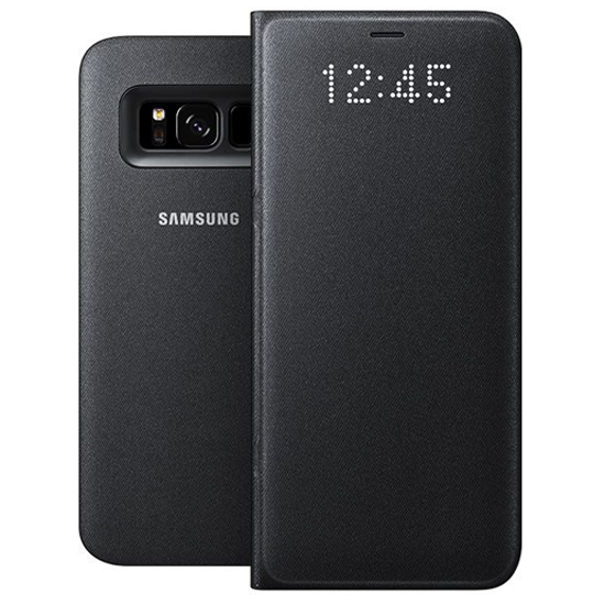 buy popular 72602 1bd70 LED View Case for Samsung Galaxy Note 8 N950F EF-NN950PBEGWW Black ORIGINAL