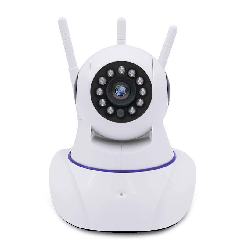Ip Camera Two Way Audio Night Vision 3 Antennas Wireless