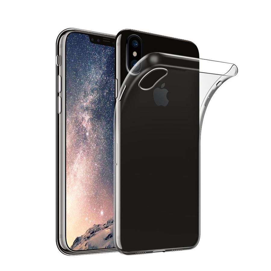 pretty nice 134f9 9d4cb Ultra Thin Silicone Clear Case for iPhone X