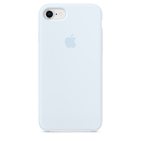 various colors 537f8 b84de iPhone Silicone Case for iPhone 6/6S Plus SKY BLUE