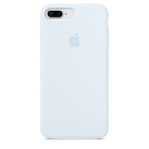 huge selection of 3be73 e1810 iPhone Silicone Case for iPhone 7 Plus SKY BLUE