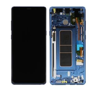 Screen Blue Galaxy Digitizer And Note Lcd With original Touch For Frame Samsung N950 8