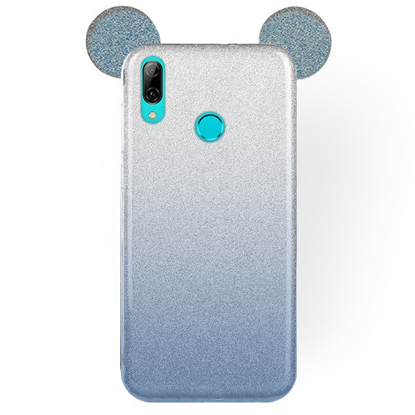 nuovo stile 7bf90 a41e8 Back Mouse Bling Cover/Case for HUAWEI P SMART 2019 CLEAR (Blue)